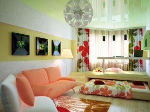 Оригинальная идя оформления и подборки мебели спальни а правильно подобранная люстра невероятное дополнение к общему интерьеру