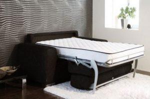 Спальня 18 квадратных метров вариант с раскладным дивана
