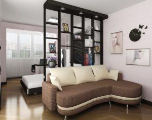 Дизайн небольшой комнаты для любителей читать перед сном