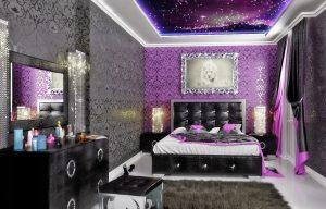 Прекрасный пример правильной расстановки мебели, отлично сказывается на внешнем виде спальни