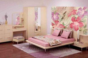 Ремонт спальни с фотообоями - комфорт и уют
