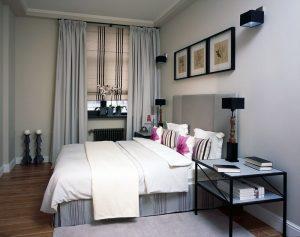 Красивая маленькая спальня в хрущевке