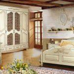 Спальни в стиле прованс, обзор в фото