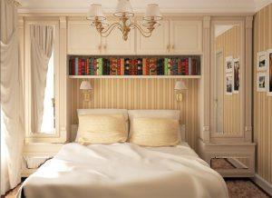 Мебель для маленькой спальни на фото