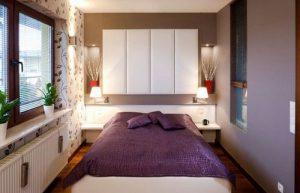 Интересная подсветка для спальной комнаты 9 квадратов