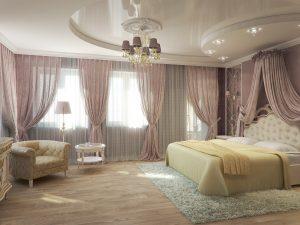 Кремовый оттенок для спальни