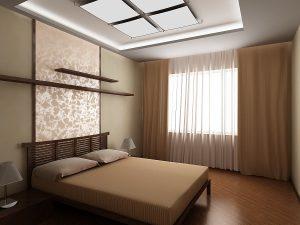 Выбираем размер штор в небольшую спальню