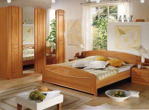Классическая спальня в 12 кв м