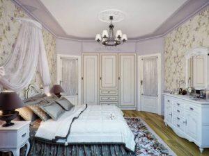 Кованая люстра для спальни прованс