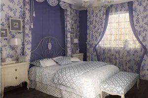 Материалы для отделки спальни в стиле прованс