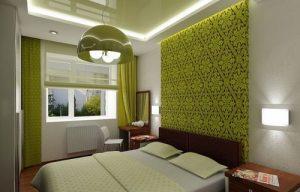 Натяжной потолок для комнаты 12 кв м