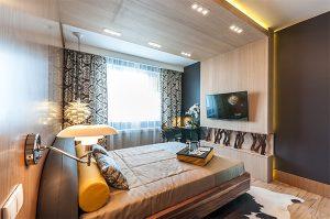 Грамотно подобранная мебель для 12 кв м спальни