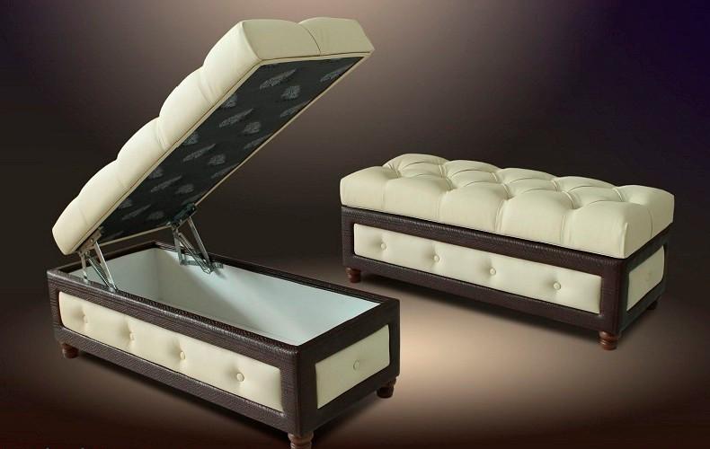 Модель с ящиком