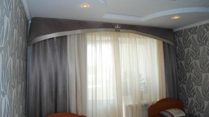 гардины для штор фото в спальню