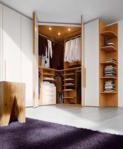 Шкаф трапециевидной формы
