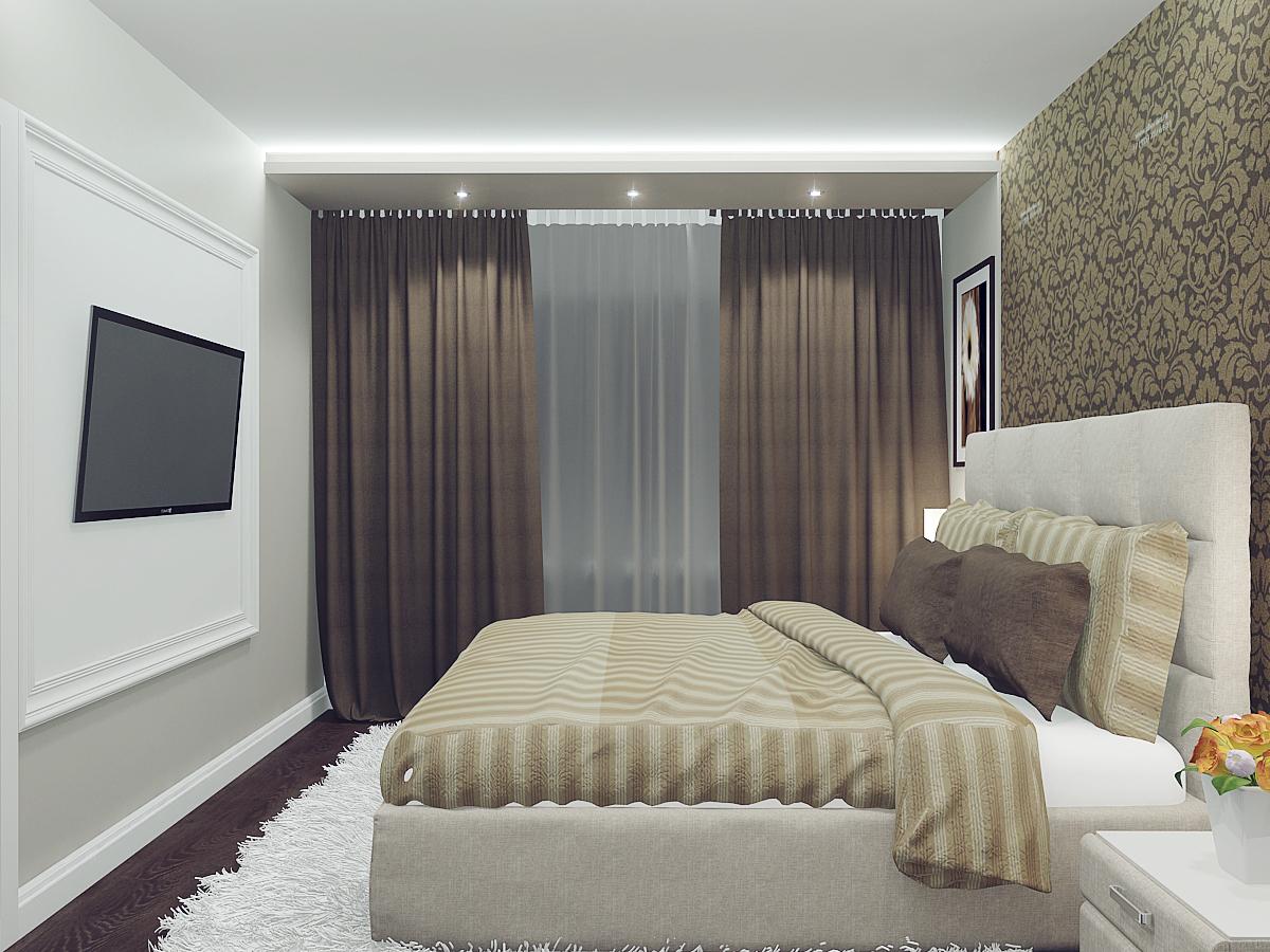 Дизайн белой спальни в хрущевках фото