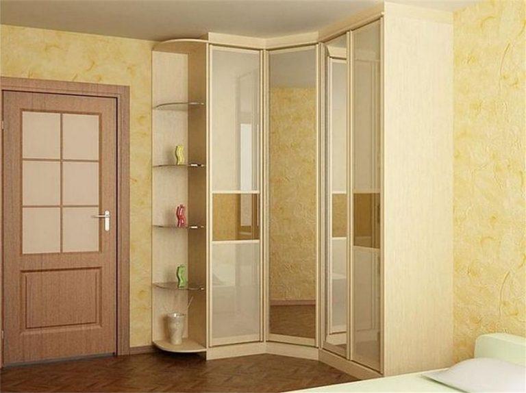 Угловые шкафы в спальню маленькие дизайн