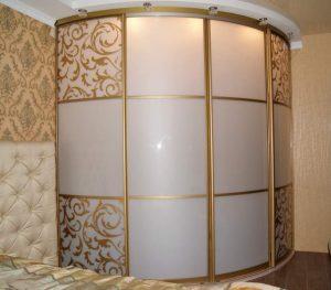Модель радиусного шкафа
