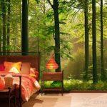 Подбор обоев для спальни, фото дизайна фотообоев