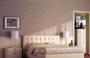 Прекрасное мягкое изголовье кровати
