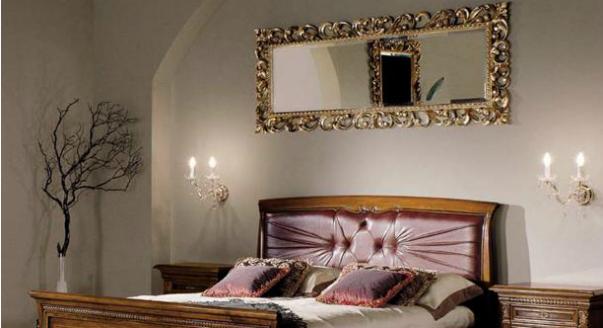 Спальня в старомодном стиле