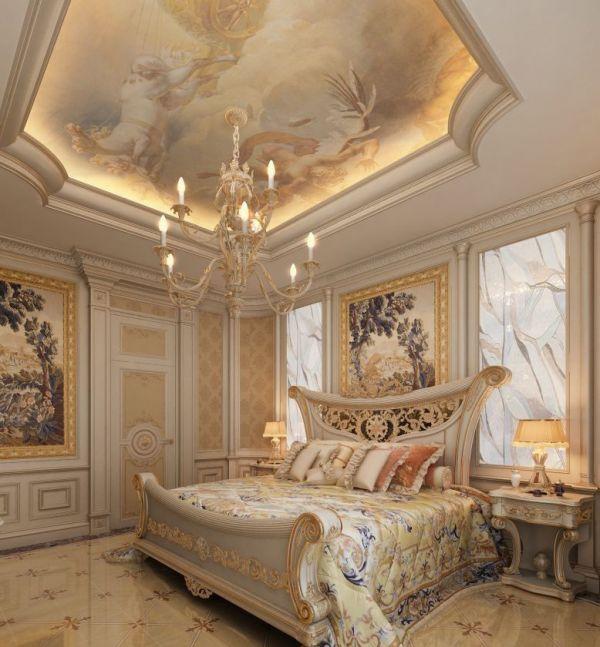 Потолок с росписью