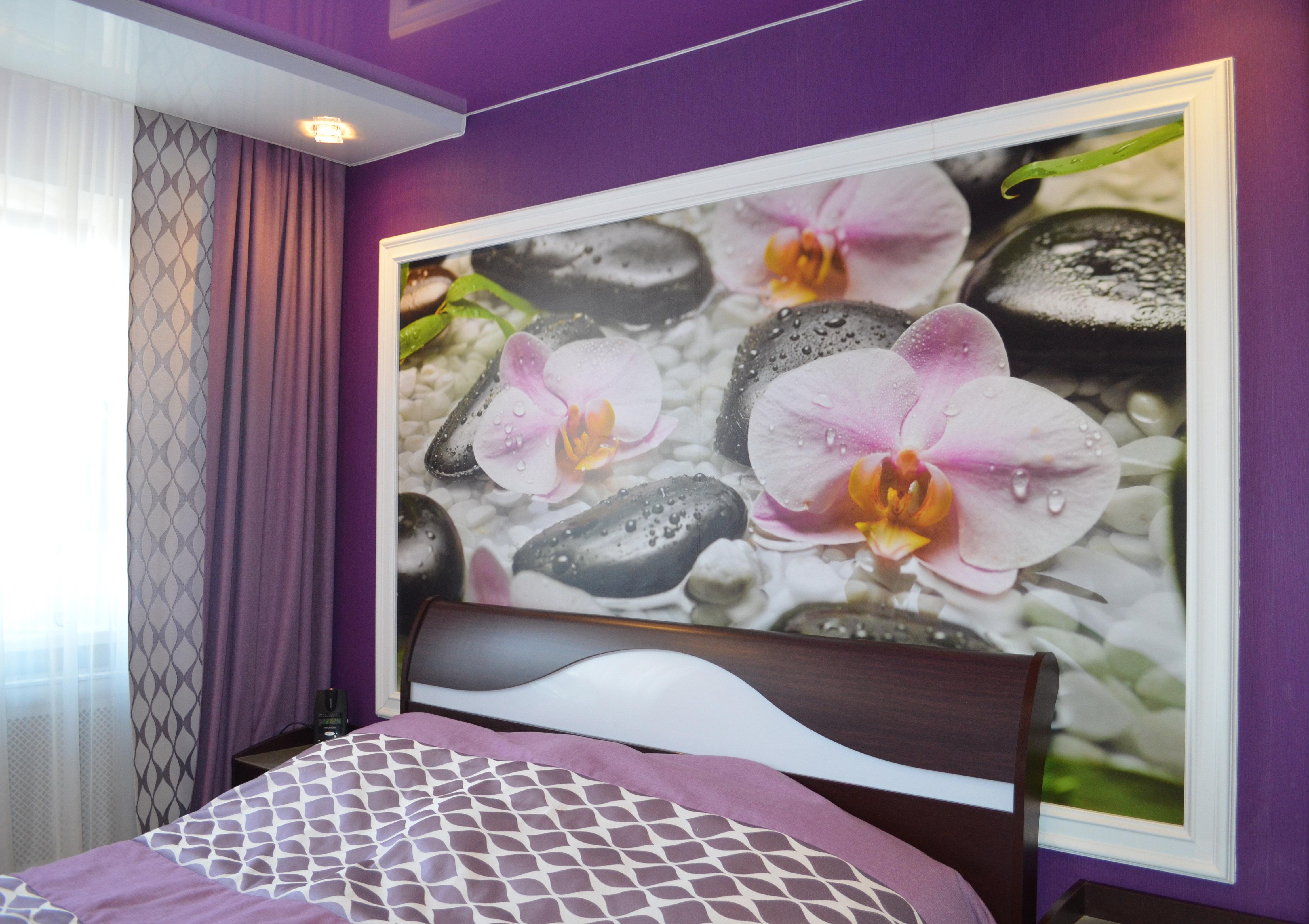 Дизайн интерьера с орхидеями