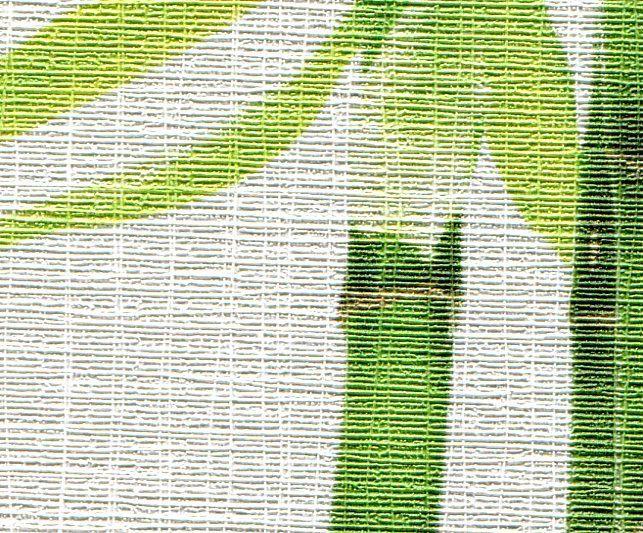 Текстура лен в оформлении спальни