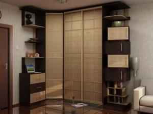 Установка шкафа от длинной стороны к короткой