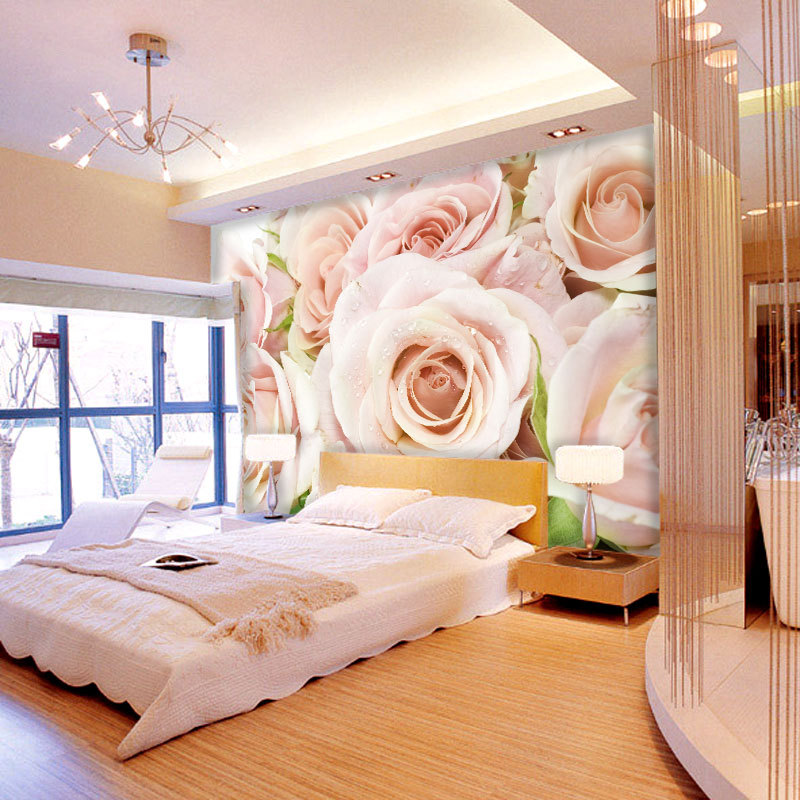 Спальня в розовой палитре