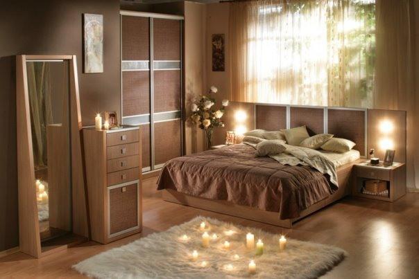 Эко стиль в интерьере спальни