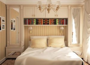Общее освещение в спальне