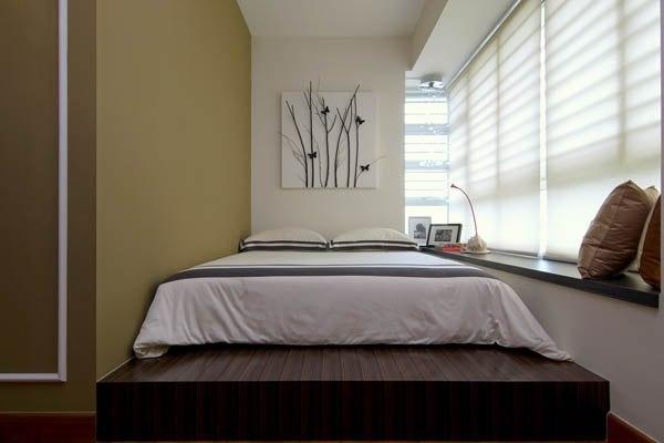 Кровать в узкую спальню