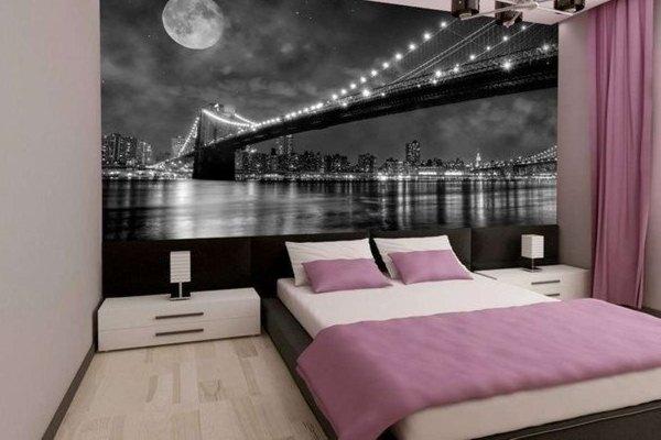 Обои с пейзажем ночного города