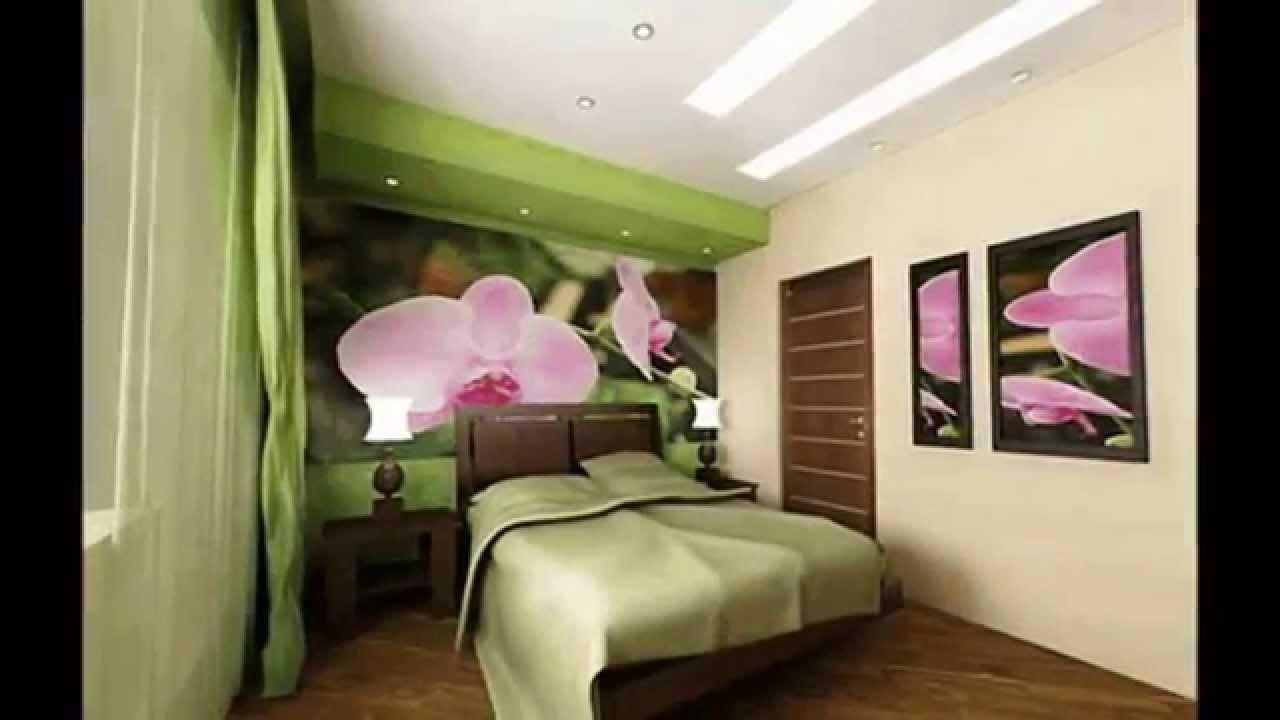 Украшение интерьера крупными цветами орхидей