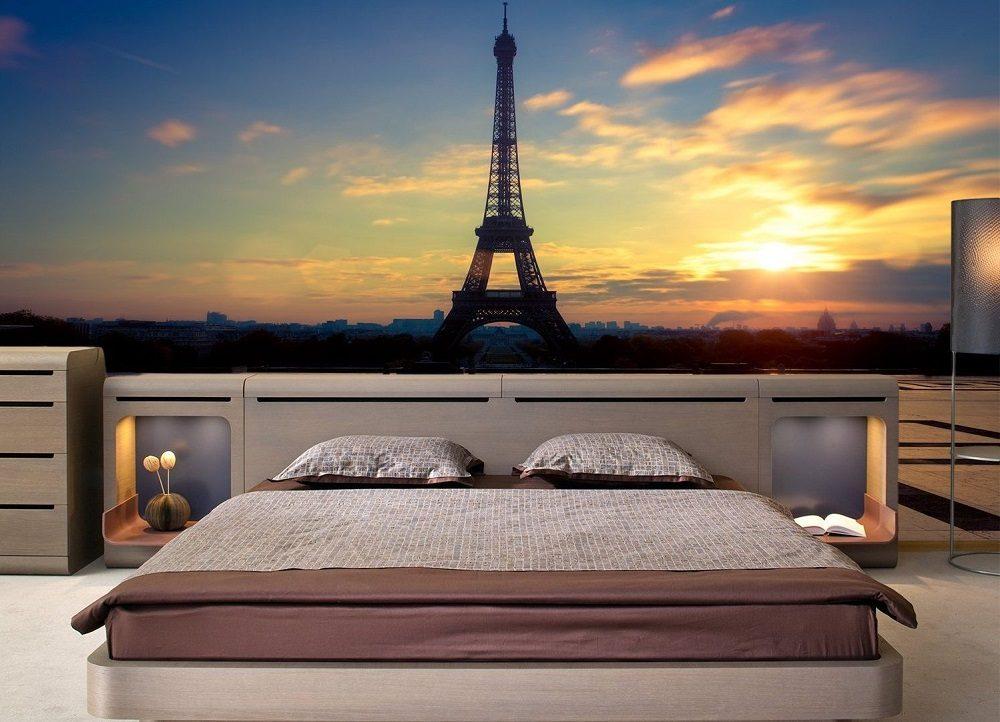 Обои с панорамой ночного города