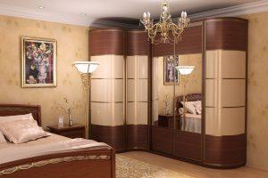 Шкаф как часть интерьера