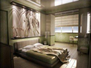 Балкон как продолжение спальни