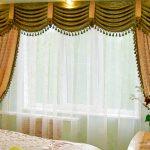 Подготовка окон, шторы в спальню выбор декора