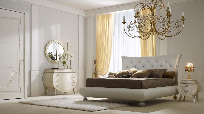 Мебельный гарнитур в спальне арт деко