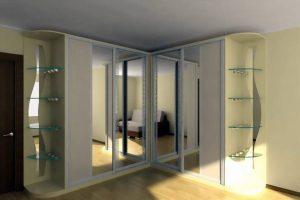 Модель с зеркальными дверками