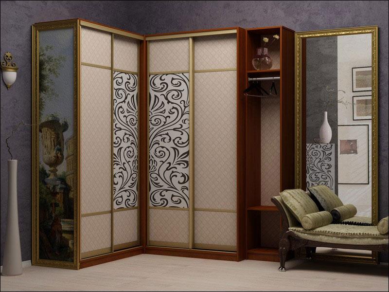 Шкаф с раздвижными дверями