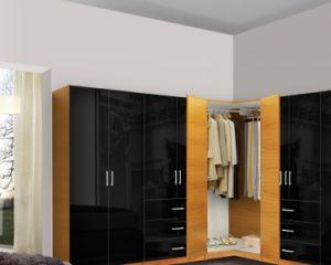 Модель шкафа из шпона