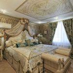 Барокко стиль для обустройства спальни