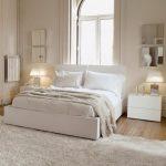 Белый тон спальни