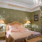 Богатый стиль ампир для оформления спальни
