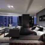 Черная палитра для дизайна спальни