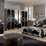 Черный цвет для оформления спальни