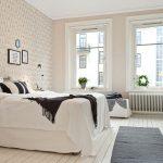 Черты скандинавского стиля для обустройства спальни