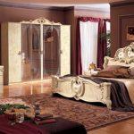 Черты стиля барокко в оформлении спальни